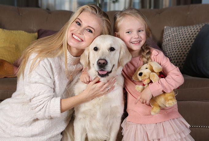 канис терапия - направление анималотерапии для особых детей
