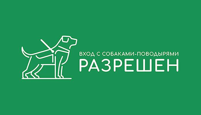 Мы рады собака-поводырям
